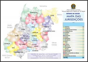 mapa da jurisdição