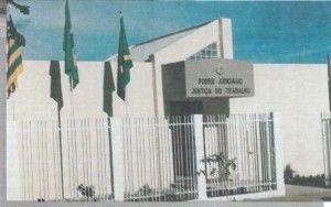 Atual sede do Fórum Trabalhista de Rio Verde - GO