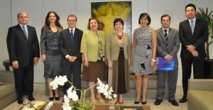Celebração do convênio com a PUC Goiás