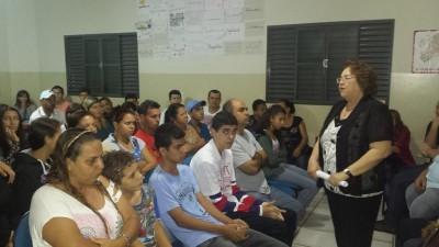 Desembargadora Elxa profere palestra na Brigada Mirim de Quirinópolis que atende a cerca de 300 adolescentes