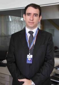 Wellington de Bessa Oliveira, coordenador do Núcleo de Prática Jurídica