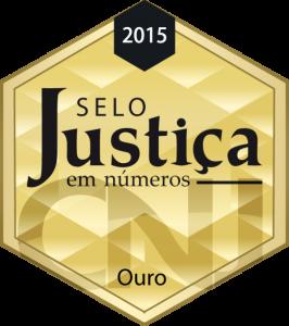 selo justiça em numeros 2015