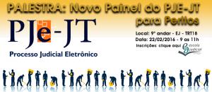 BANNER - Novo Painel do PJe para Peritos