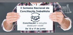 2ª Semana Nacional da Conciliação