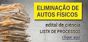 Eliminação de Autos Findos - listagem 4