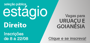 Concurso para estágio de Direito em Uruaçu e Goianésia.