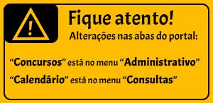 Alteração Menus Portal
