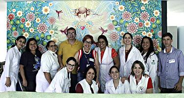 Ir para Projeto TRT Voluntário encerra o ano levando renovação e esperança à Pediatria do Hospital Araújo Jorge