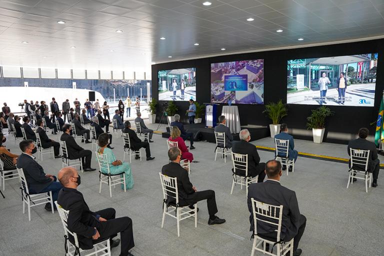 Ir para TRT-18 celebra 30 anos de história: cerimônia foi transmitida on-line