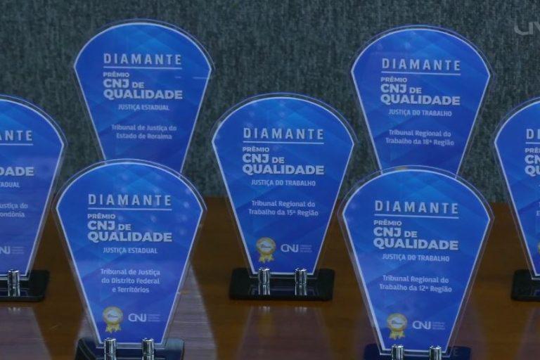 Ir para TRT de Goiás recebe Selo Diamante do CNJ, maior premiação do Judiciário